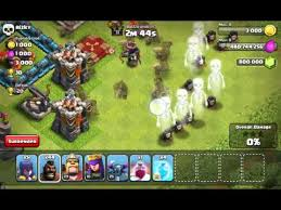 game coc sudah di mod clash of clan mod fhx youtube