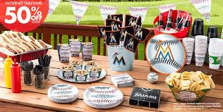 party supplies miami mlb miami marlins party supplies party city