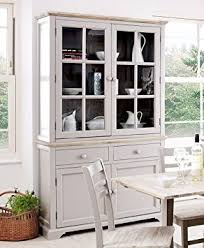 Florence Display Cabinet Large Truffle Kitchen Dining Dresser - Kitchen display cabinet