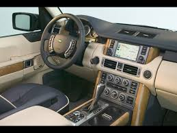 land rover 2007 interior 2008 land rover range rover dashboard 1 1024x768 wallpaper
