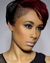 best short black hairstyles shaved sides best hairstyles for