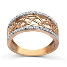gold band ring designer gold diamond wedding band ring for women jeenjewels