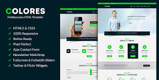 html5 css3 templates from themeforest