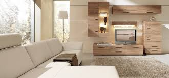 alluring modern living room wooden furniture caramel wood wall