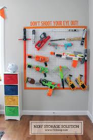nerf bedroom diy nerf gun storage inspiration made simple