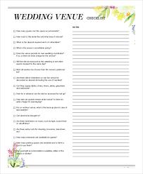 what is a wedding venue wedding venue checklist wedding ideas
