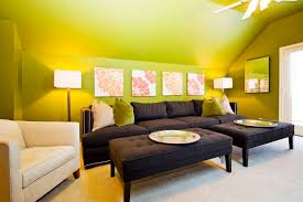 Ways To Create A Bright Space With Dark Furniture - Bright colors living room