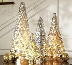 Pottery Barn Tree Lit Antique Mercury Glass Trees From Pottery Barn I U0027ve Been