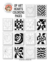 illusions coloring pages 167 best op art images on pinterest optical illusions optical