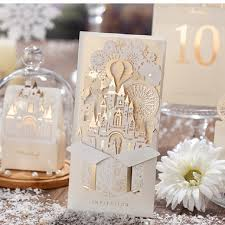 Foil Wedding Invitations Online Shop Elegant Silver Pop Up 3d Invitation Card Laser Cut