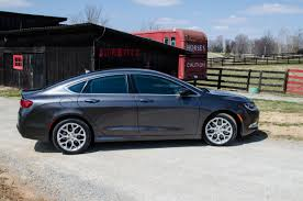standard chrysler 200 2015 chrysler 200c first drive review luxury at family car price