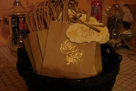 another diy done u2013 candy buffet bags and tags weddingbee