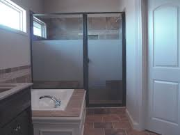 Wood Shower Door by Bathroom Exquisite Bathroom Decoration Using Decorative Glass