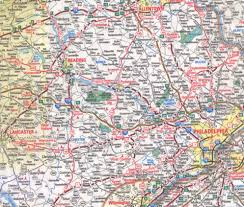 Pennsylvania Counties Map by Chester County Pennsylvania Map Page For Woodward Web Site