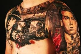 Al Capone Tattoos By Stephane Picture At Checkoutmyink Com