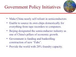 A Construction China And Semiconductors China A In Semiconductors