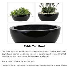 Low Bowl Planter by Brook Plants And Landscaping L L C Stone Works