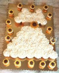 best 25 sunflower wedding cupcakes ideas on pinterest sunflower