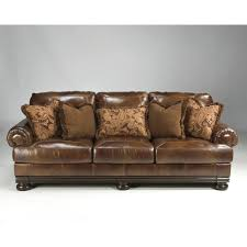 Furniture Leather Sofa Furniture Hutcherson Ashley Leather Sofa Furniture Dining Room