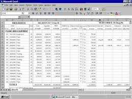Fixed Asset Register Excel Template 5 Best Images Of Fixed Asset Accounting Asset Register Excel