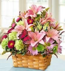 Flowers For Mom Garden Basket Fresh Flowers For Mom In Salisbury Ma Flowers By