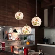 Decorative Pendant Light Fixtures Style Ceramic Shade Painted Decorative Pendant Lights