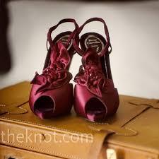 burgundy wedding shoes burgundy bridal shoes