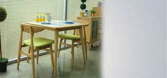 nomu ash dining table couple furniture singapore unique