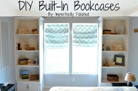 Diy Ladder Shelf Shelves Tutorials by Diy Built In Bookcase Tutorial