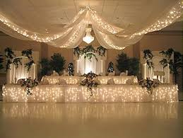 draped ceiling wedding ceiling drapes with lights event decor direct