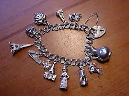 solid silver charm bracelet images I vintage 70s charm bracelets collection on ebay jpg