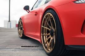 porsche gt3 red red porsche 991 gt3 adv5 0 m v2 cs wheels