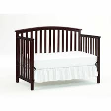 Convertible Crib Bed Rails by Graco Freeport 4 In 1 Convertible Crib Cherry Walmart Com