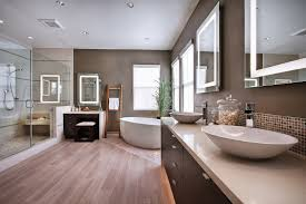 Wood Floor In Bathroom Bathroom Wood Floor Tile Walls Brightpulse Us