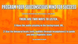 program your subconscious mind for success with audible
