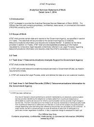 at u0026t analytical services for government agencies model statement