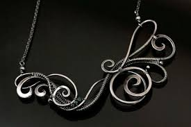 wire jewelry necklace images Make gallery worthy wire jewelry with proper finishing and patina jpg