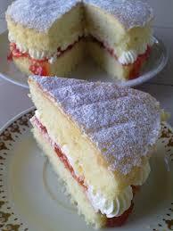 soju treats victoria sponge birthday cake