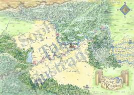 Narnia Map Map Of Moomin Valley Sophie E Tallis Author Illustrator