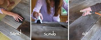 Reclaimed Wood Headboard Diy Project Salvaged Barnwood Headboard U2013 Design Sponge