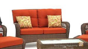 Martha Stewart Living Patio Furniture Replacement Cushions Martha Stewart Living Charlottetown Brown All Weather Wicker Patio
