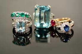 diamond rings gemstones images Unique engagement rings lovetoknow jpg