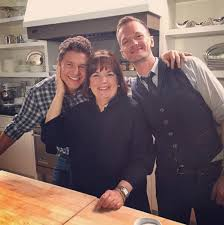 neil patrick harris and his husband cook with ina garten abc news