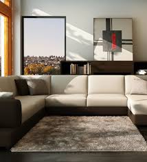 Sectional Sofa With Ottoman Sectional Couches With Ottoman Modern Modular Sectional White