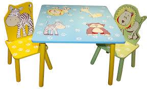 kids animal table and chairs liberty house toys animal table and 2 chairs set amazon co uk toys