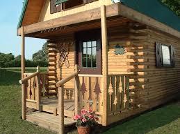 10 x 14 log cabin