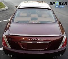 maserati 2004 2004 2012 maserati quattroporte tesoro rear window spoiler