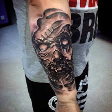 tattoo ideas zombie zombie girl tattoo on arm for guys tattoo ideas