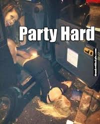 Party Hard Meme - drunk fails pictures party hard funny drunk girl epic fail