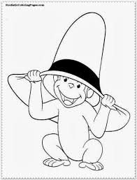 curious george coloring pages realistic coloring pages